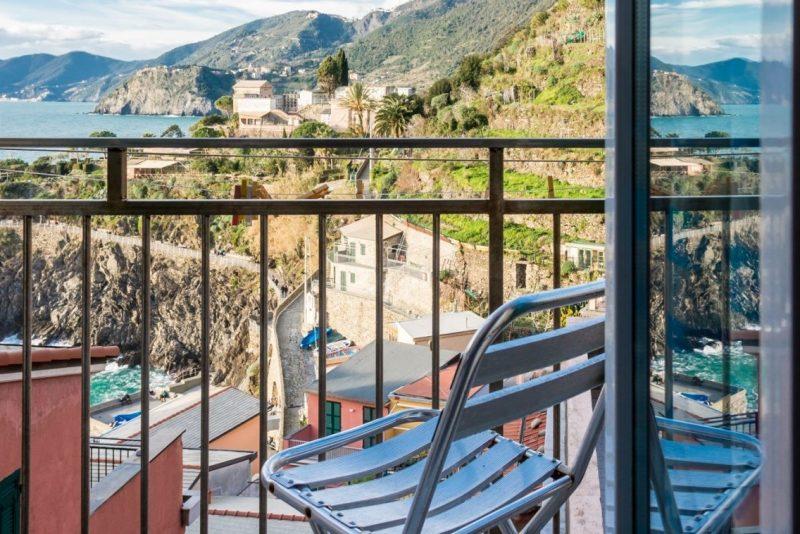 appartamento belvedere manarola cinque terre