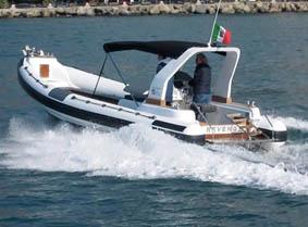 rubber boat rapallo