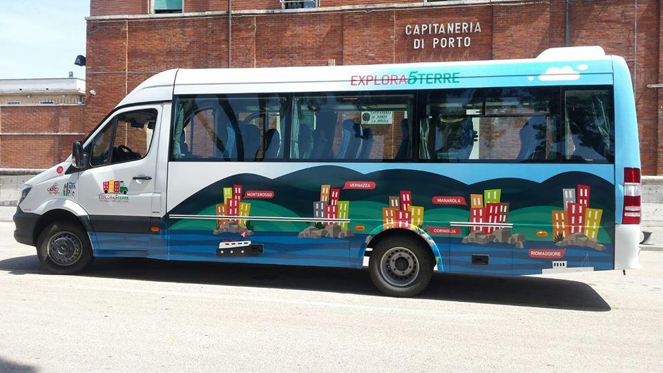 hop on hop off cinque terre by bus