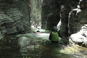 stretti di giaredo canyoning liguria