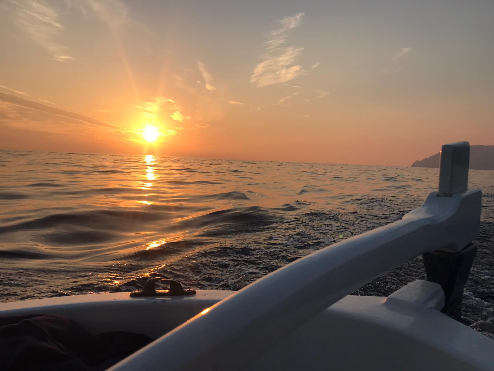 Crociera al tramonto alle Cinque Terre