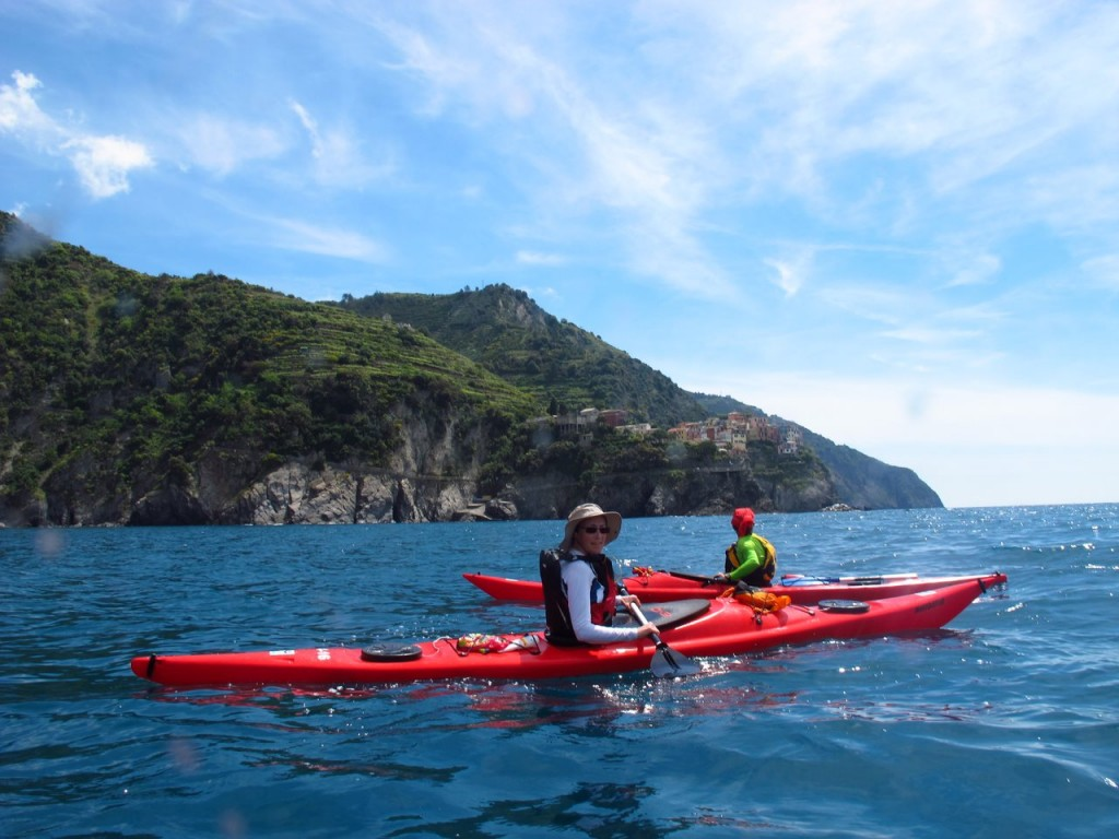 Cinque Terre kayak tour