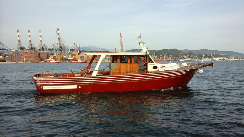Motorboat Moby Dick - La Spezia Degustazioni prodotti tipici locali