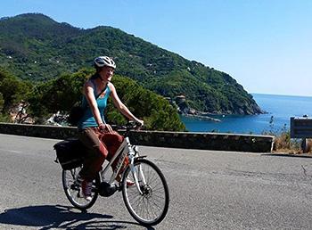 e-bike tour framura bonassola