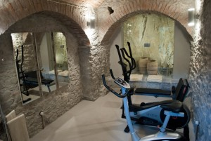 gym suite luxury apartment manarola