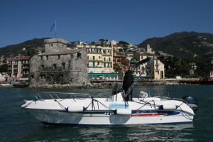 Motorboat without skipper – Rapallo