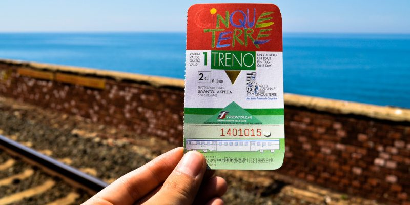 cinque terre card info about