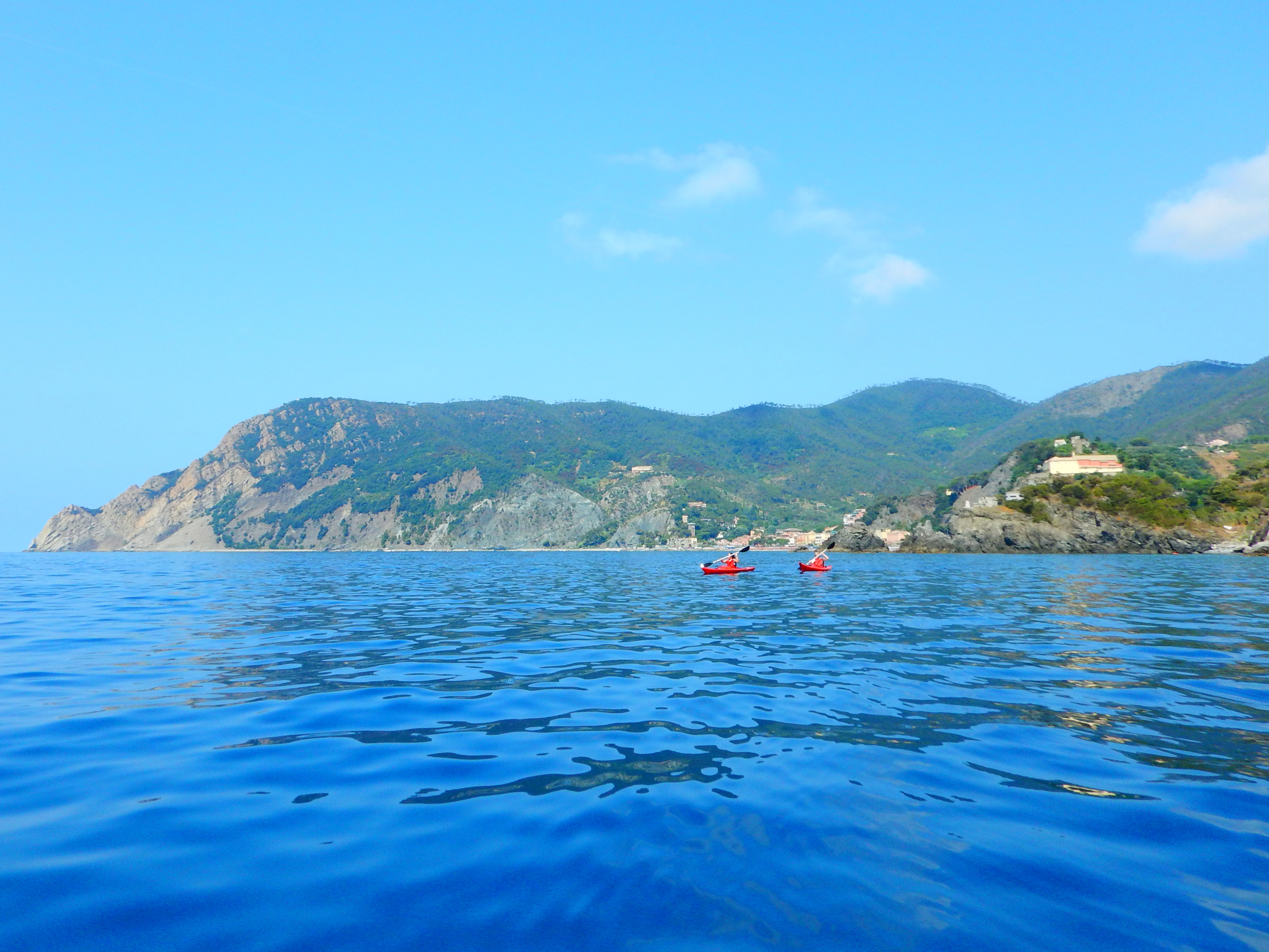 Kayak Tour Cinque Terre Italy Arbaspaa Accommodation