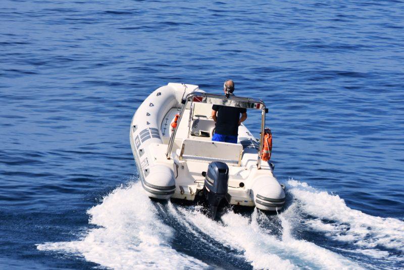 cinque terre rubber boat