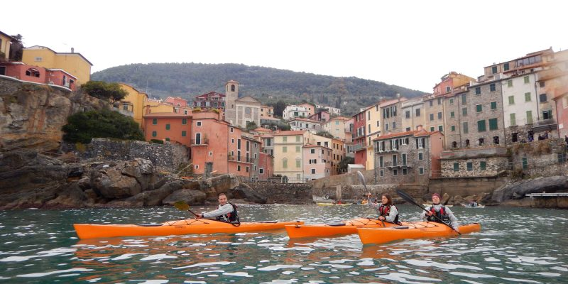 winter kayak 5 terre