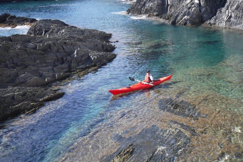 Cinque Terre in kayak