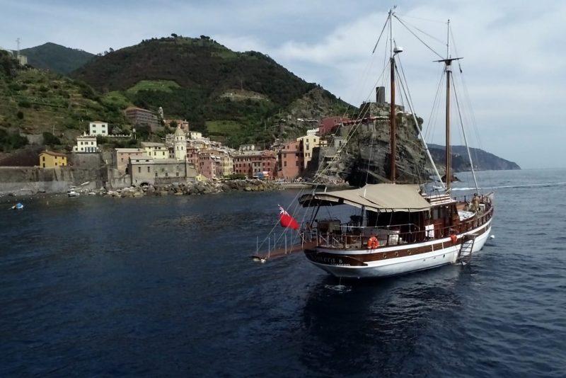 gules cruise cinque terre