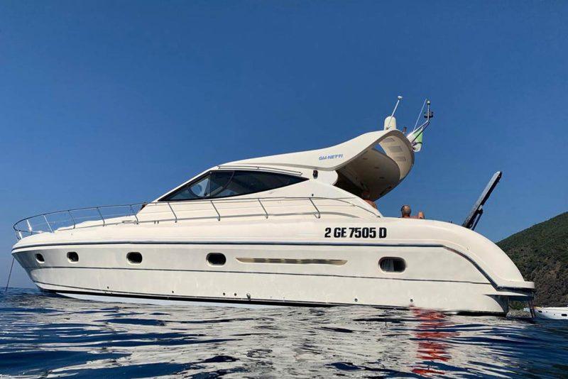 Elegant motorboat Lavagna