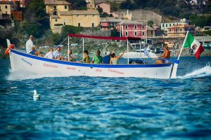 Typical motorboat- gozzo-Levanto